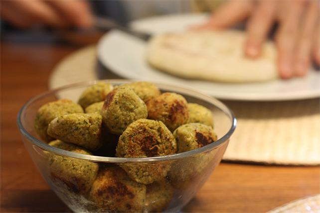 Falafel & Pitta-Taschen einfach selbstgemacht