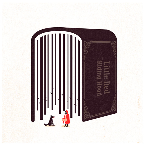 Little Red Riding Hood by Tang Yau Hoong