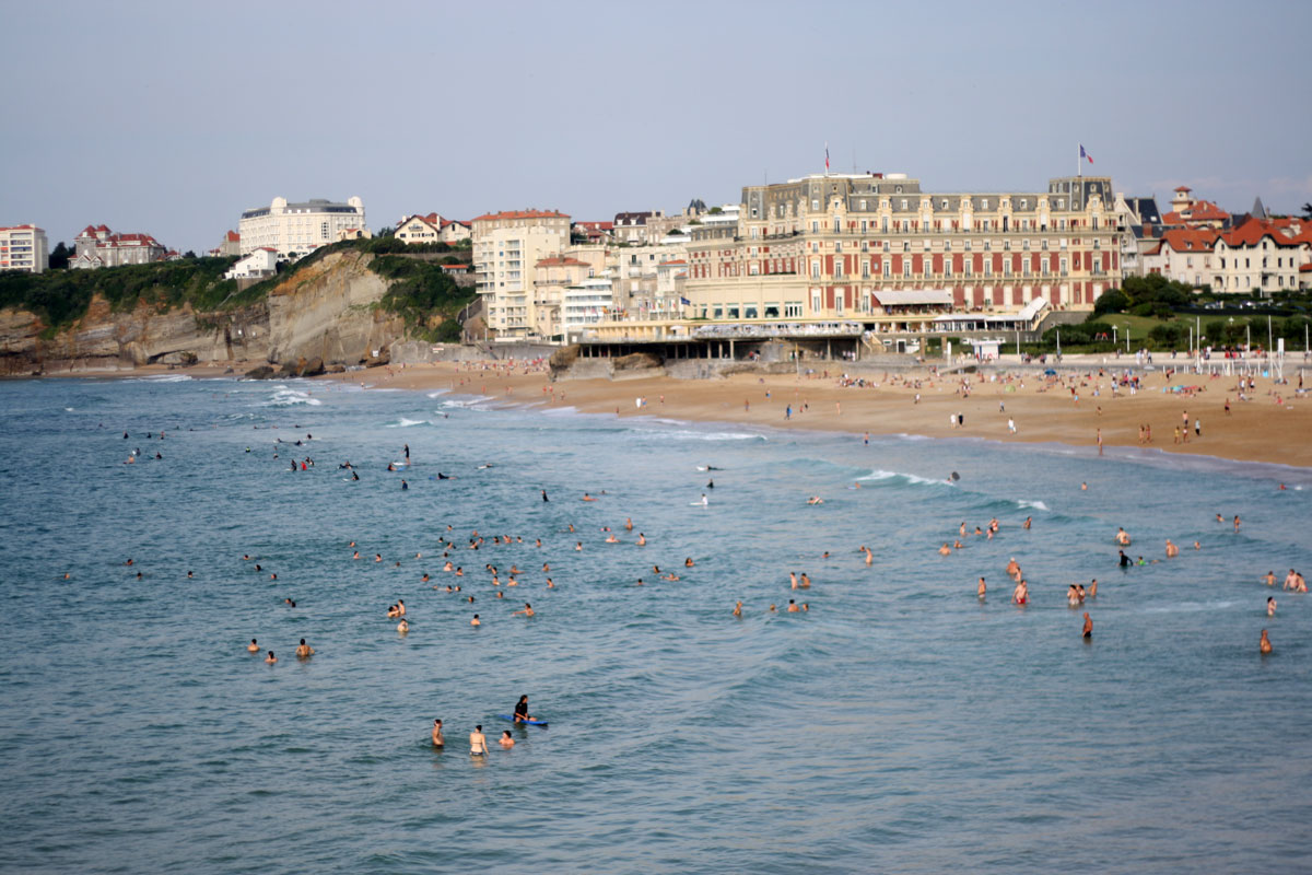 Grand Plage in Biarritz