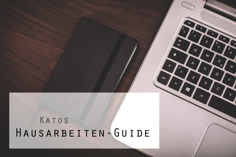 Katos ultimativer Hausarbeiten-Guide