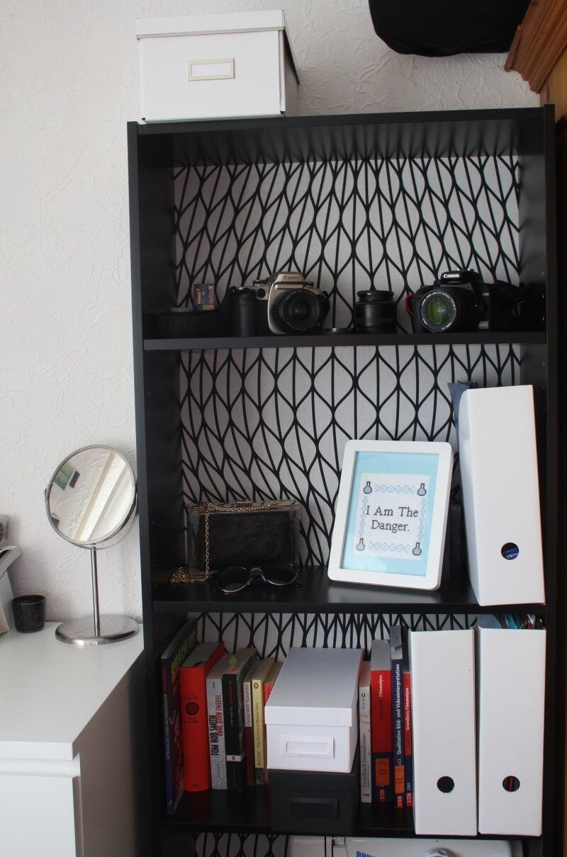 IKEA-Regal mit Stoff beziehen [CopyKato]  Innocent Glow